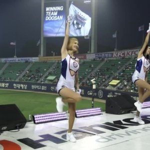 Korean Cheer Leaders