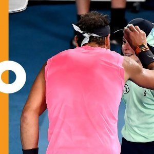 Kiss and Make Up: Rafa Apologises to Ball Girl Like a Gentleman | Australian Open 2020