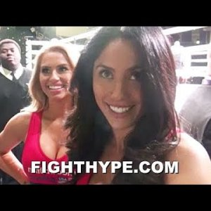 SAMANTHA KUMIKO MAY BE THE BEST P4P RING CARD GIRL IN BOXING; TALKS MAYWEATHER AND DAZN