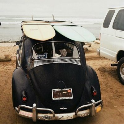 "Surfing Chill Vibes on Instagram: ""Adventure means taking your vintage car and a pair of surfboards ‍♀️‍♂️"""